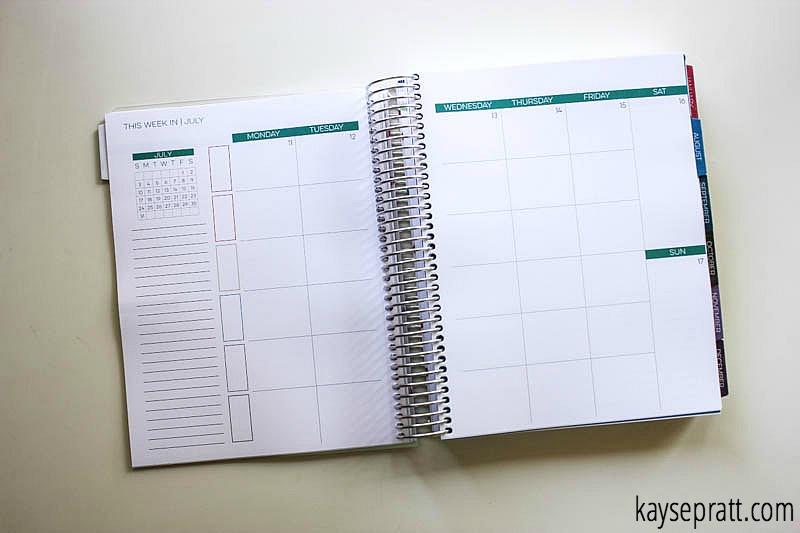 Limelife Daily Planner Spread - KaysePratt.com