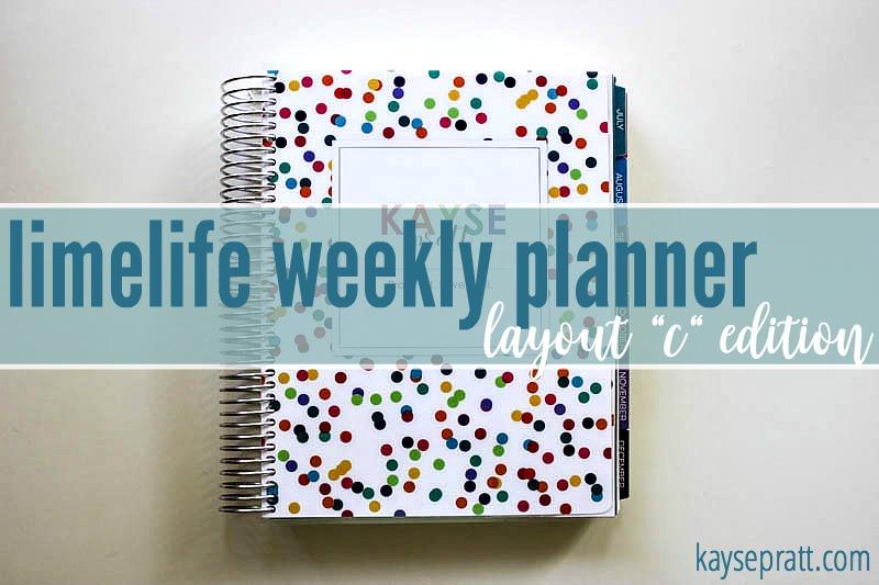 Limelife Weekly Planner - KaysePratt.com