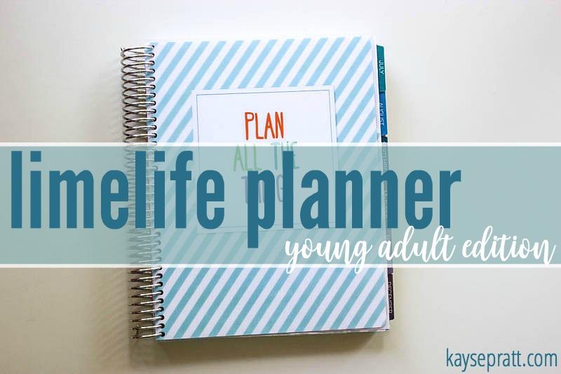 Limelife Young Adult Planner - KaysePratt.com