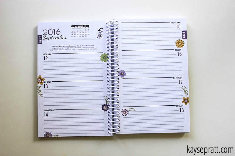 Mommas Little Helper Planner Spread - KaysePratt.com