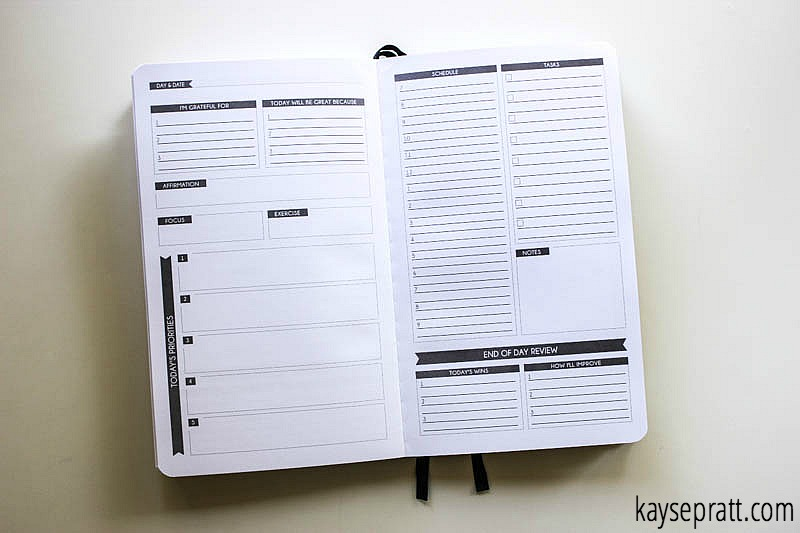 Panda Planner Daily Spread - KaysePratt.com
