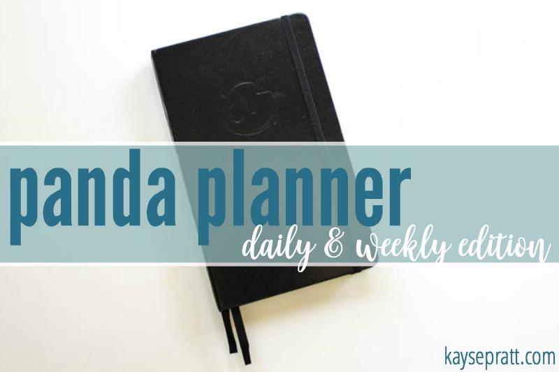 Panda Planner - KaysePratt.com