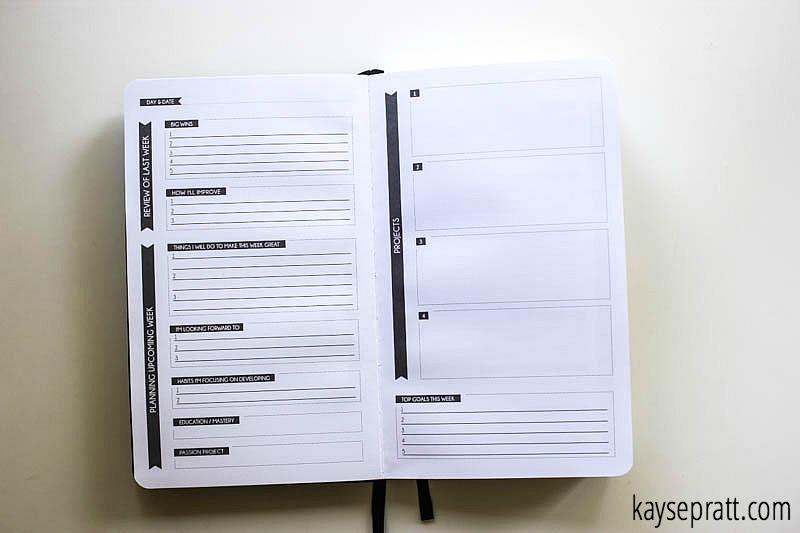 Panda Planner Weekly Spread - KaysePratt.com