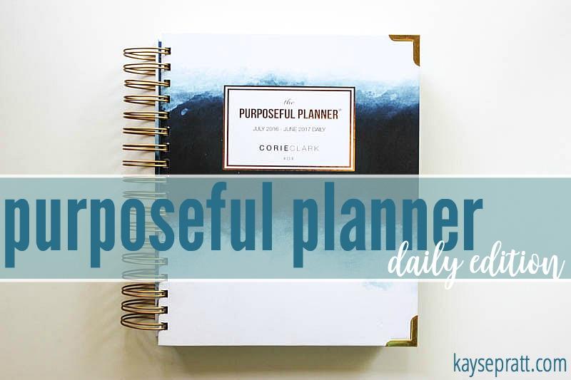 Purposeful Planner Daily Edition - KaysePratt.com