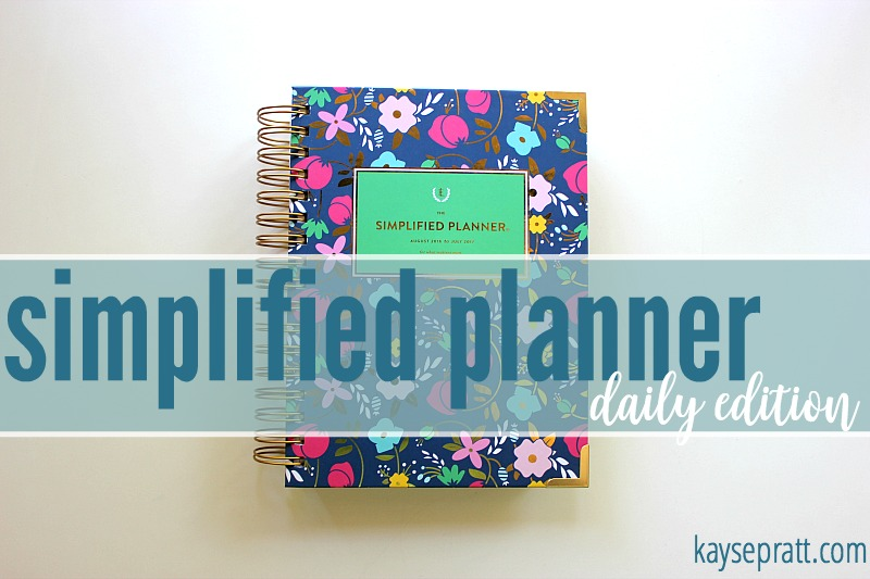 Simplified Planner Daily Edition - KaysePratt.com