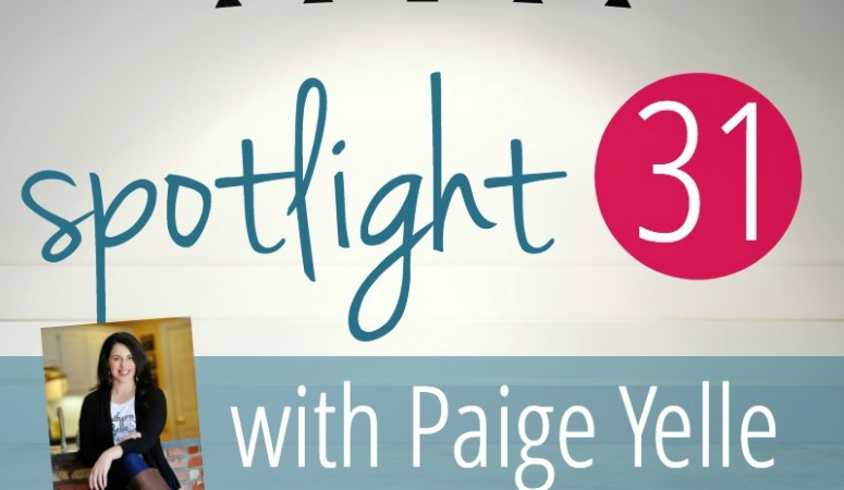 Reclaim Your Joy :: A Spotlight 31 Interview with Paige Yelle