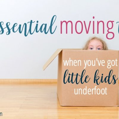 10 essential tips for moving with little kids underfoot