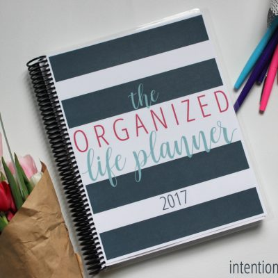 The Organized Life Planner is HERE!!!