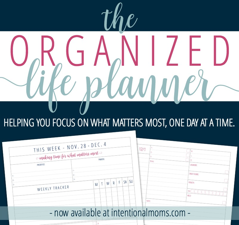 Organized Life Planner - now available