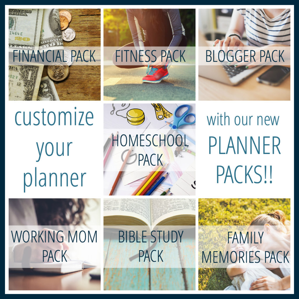The Organized Life Planner - IntentionalMoms.com