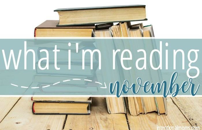 What I'm Reading in November