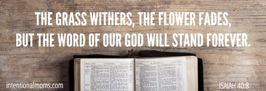 Simple Scripture Study - IntentionalMoms.com