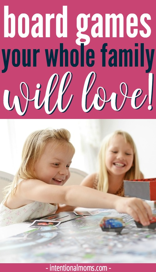 Awesome board games that the whole family can enjoy, no matter their age!