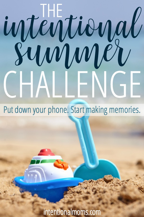 A FREE challenge for moms who want to connect with their kids, strengthen their families, and make memories during the summer months! This challenge includes a massive summer resource pack, book lists for every age, ideas for free & cheap summer activities, & more! Plus, weekly challenge emails, all summer long. This is the BEST resource for moms this summer!!