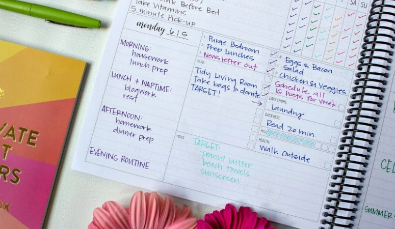 How to use your planner to carve out time for the things that matter.