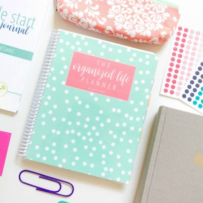 Introducing…The Organized Life Planner!