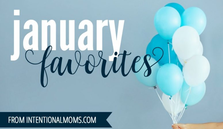 January Favorites!