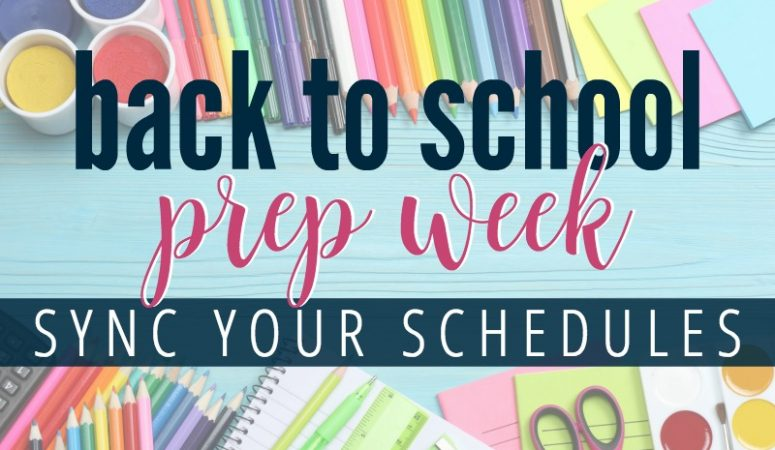 Back to School Week: Creating a command center and calendar system to simplify your school year
