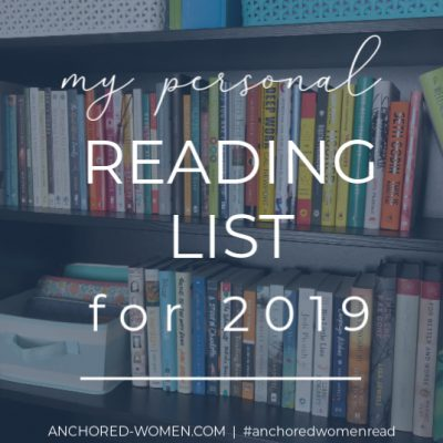 What I'm reading in 2019