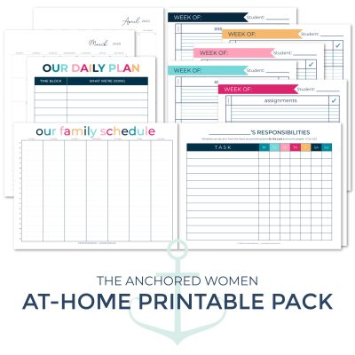 Download your free At-Home Printable Pack!