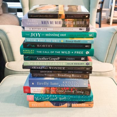 The best books I read in 2020 (and my book list for 2021)!